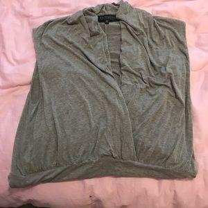 ELOQUII Grey Bodysuit Size 20 Stretch and Rayon